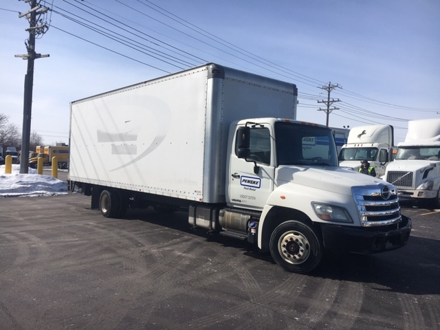 Medium Duty Box Truck-Light and Medium Duty Trucks-Hino-2011-258LP-WIXOM-MI-132,172 miles-$25,250