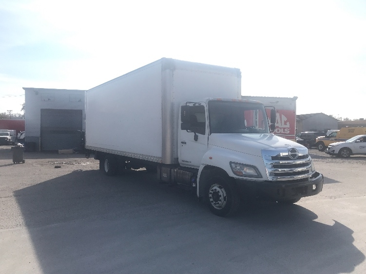 Medium Duty Box Truck-Light and Medium Duty Trucks-Hino-2011-258LP-CINCINNATI-OH-229,052 miles-$27,250