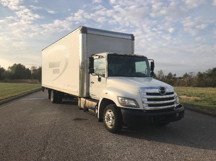 Medium Duty Box Truck-Light and Medium Duty Trucks-Hino-2011-258LP-EVANSVILLE-IN-164,665 miles-$32,000