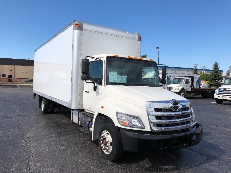 Medium Duty Box Truck-Light and Medium Duty Trucks-Hino-2011-258LP-CHICAGO RIDGE-IL-152,683 miles-$36,250
