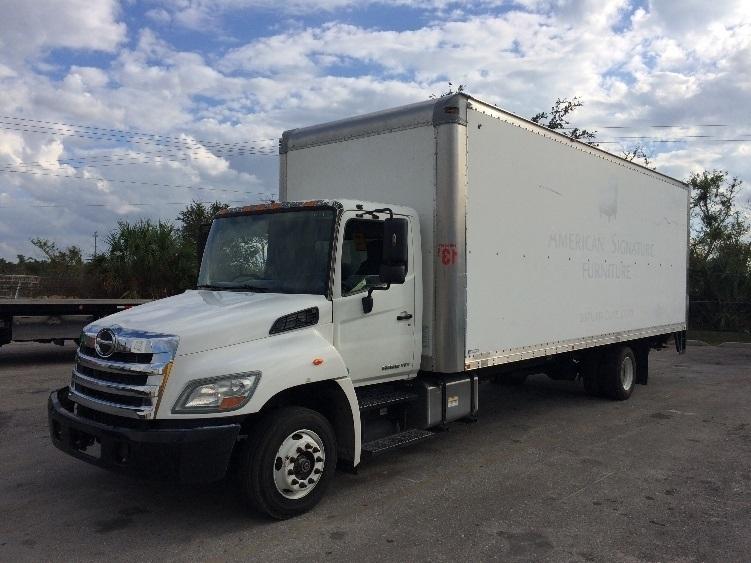 Medium Duty Box Truck-Light and Medium Duty Trucks-Hino-2011-258LP-FORT MYERS-FL-142,371 miles-$36,250