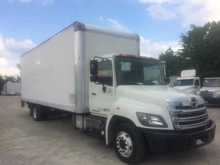 Medium Duty Box Truck-Light and Medium Duty Trucks-Hino-2011-258LP-CHARLOTTE-NC-168,503 miles-$33,750
