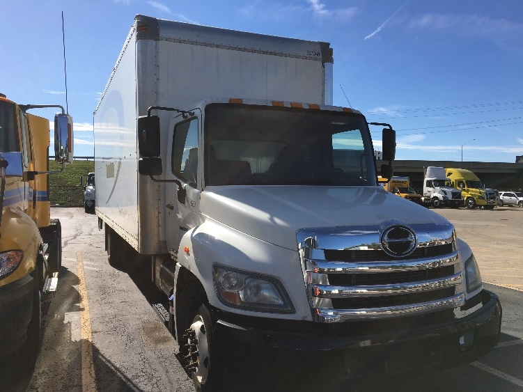 Medium Duty Box Truck-Light and Medium Duty Trucks-Hino-2011-258LP-INDIANAPOLIS-IN-143,340 miles-$34,750
