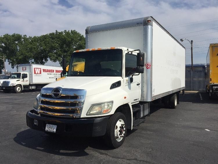 Medium Duty Box Truck-Light and Medium Duty Trucks-Hino-2011-258LP-NASHVILLE-TN-154,771 miles-$34,250