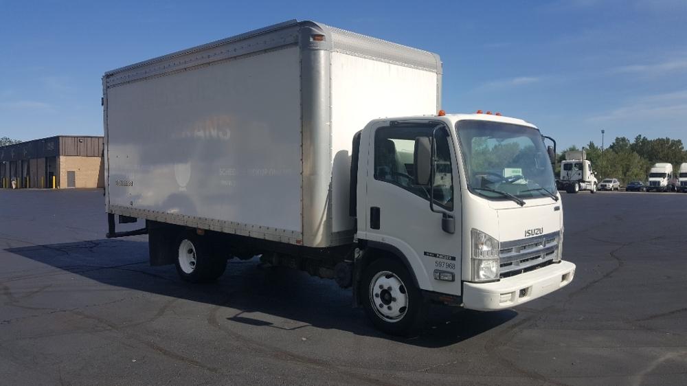 Medium Duty Box Truck-Light and Medium Duty Trucks-Isuzu-2010-NQR-BENSALEM-PA-171,433 miles-$20,250