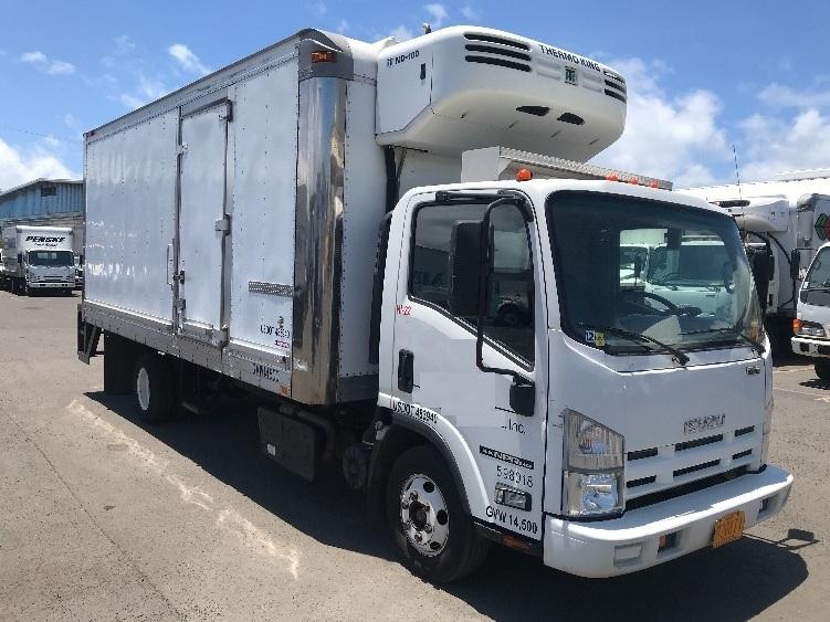 Reefer Truck-Light and Medium Duty Trucks-Isuzu-2011-NPR-TORRANCE-CA-69,546 miles-$41,250