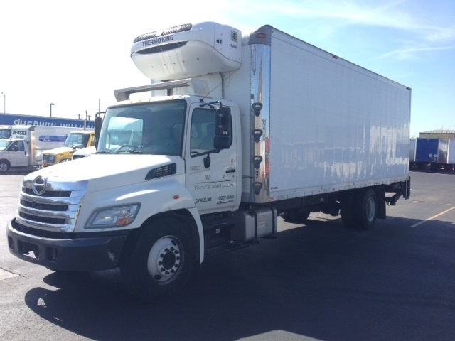 Reefer Truck-Light and Medium Duty Trucks-Hino-2011-268-PHOENIX-AZ-194,677 miles-$39,500