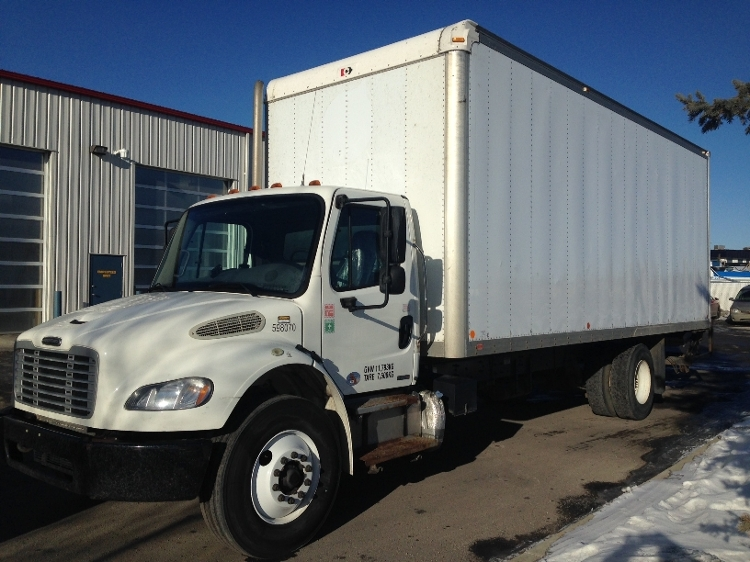 Medium Duty Box Truck-Light and Medium Duty Trucks-Freightliner-2011-M2-CALGARY-AB-180,841 km-$55,500