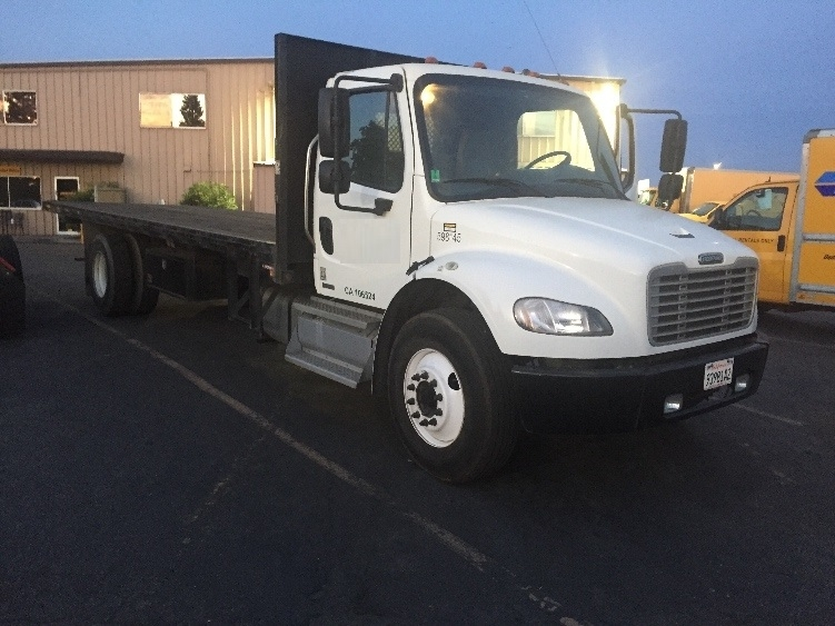 Flatbed Truck-Light and Medium Duty Trucks-Freightliner-2011-M2-WEST SACRAMENTO-CA-320,369 miles-$23,500