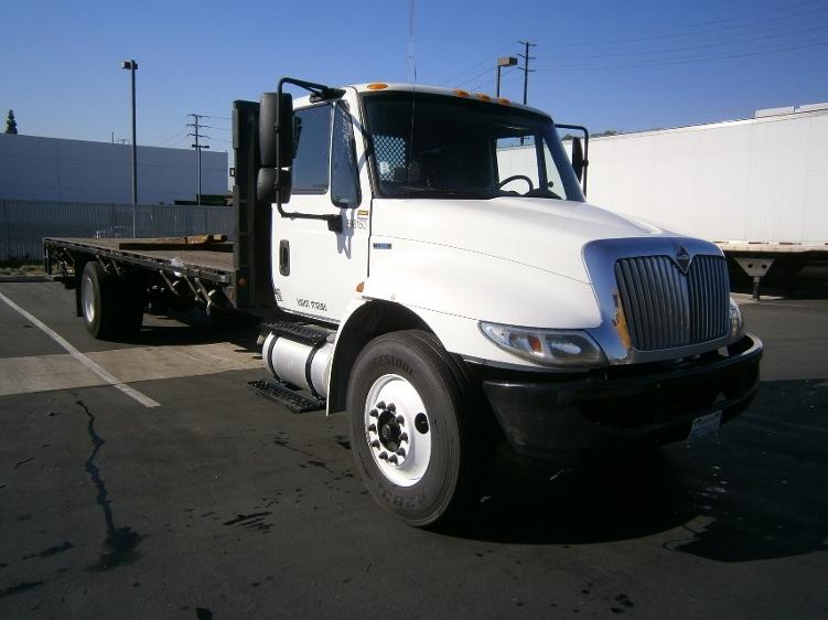 Flatbed Truck-Light and Medium Duty Trucks-International-2011-4300-TORRANCE-CA-109,545 miles-$45,750