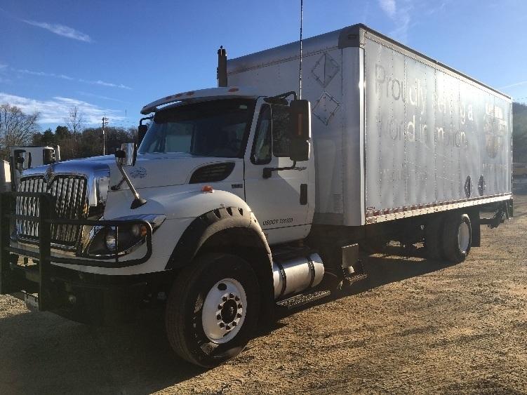 Medium Duty Box Truck-Light and Medium Duty Trucks-International-2012-7600-ASHEVILLE-NC-579,002 miles-$23,000