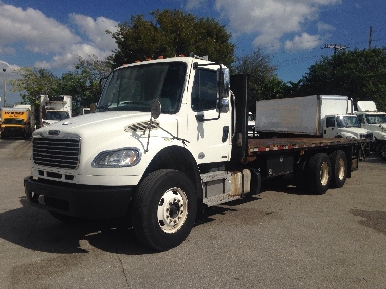 Flatbed Truck-Light and Medium Duty Trucks-Freightliner-2011-M2-MIAMI-FL-173,185 miles-$43,750