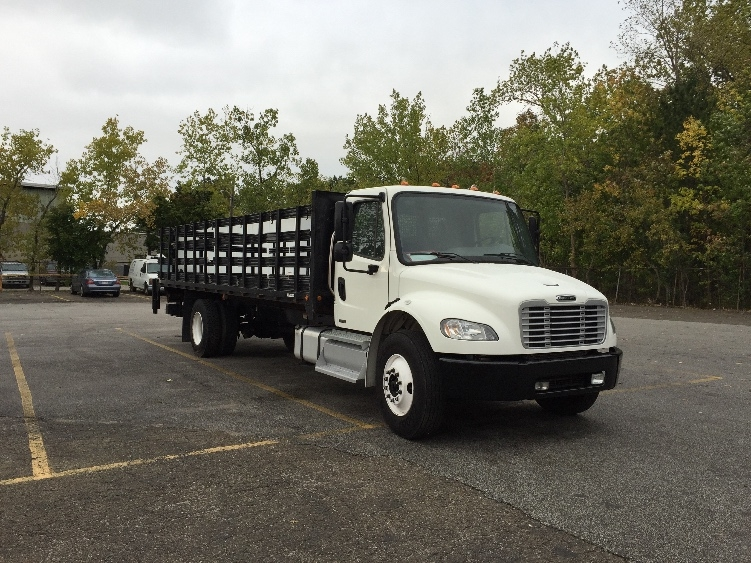 Flatbed Truck-Light and Medium Duty Trucks-Freightliner-2011-M2-AKRON-OH-141,482 miles-$36,500
