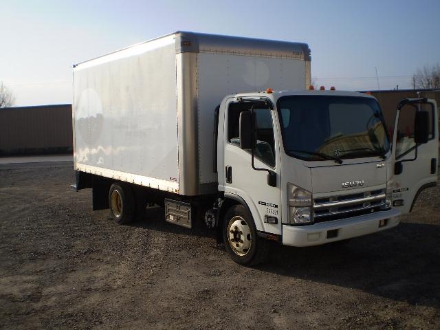 VAN-TRUCK-Isuzu-2011-NQR-DELPHOS-OH-178,014 miles-$20,500