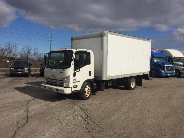Medium Duty Box Truck-Light and Medium Duty Trucks-Isuzu-2011-NQR-BROOK PARK-OH-178,444 miles-$17,000