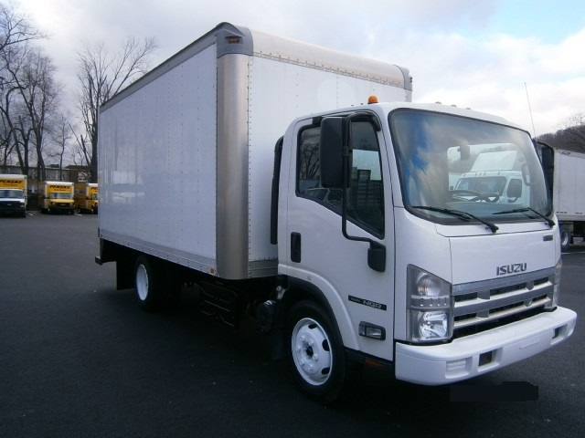 Medium Duty Box Truck-Light and Medium Duty Trucks-Isuzu-2011-NQR-PITTSBURGH-PA-150,324 miles-$18,500