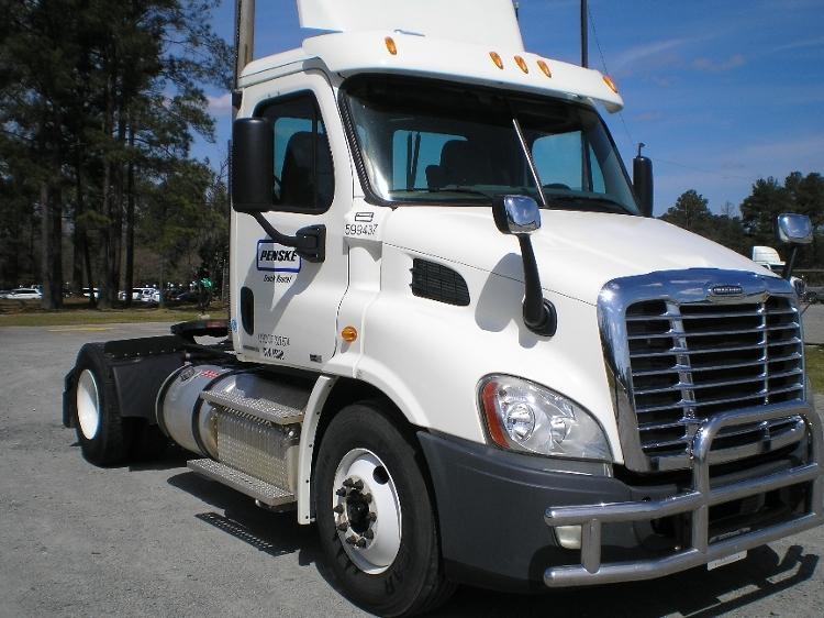 Day Cab Tractor-Heavy Duty Tractors-Freightliner-2011-Cascadia 11342ST-MACON-GA-425,434 miles-$39,750