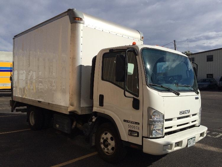 Medium Duty Box Truck-Light and Medium Duty Trucks-Isuzu-2011-NPR-DENVER-CO-75,023 miles-$27,500