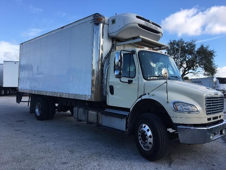Reefer Truck-Light and Medium Duty Trucks-Freightliner-2015-M2-POMPANO BEACH-FL-95,938 miles-$52,750