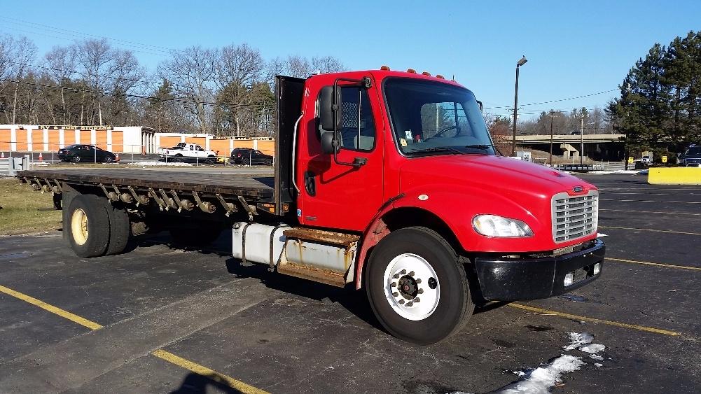 Flatbed Truck-Light and Medium Duty Trucks-Freightliner-2011-M2-AUBURN-MA-284,844 miles-$26,750