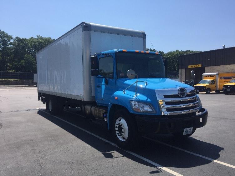 Medium Duty Box Truck-Light and Medium Duty Trucks-Hino-2011-268-CRANSTON-RI-214,166 miles-$33,250