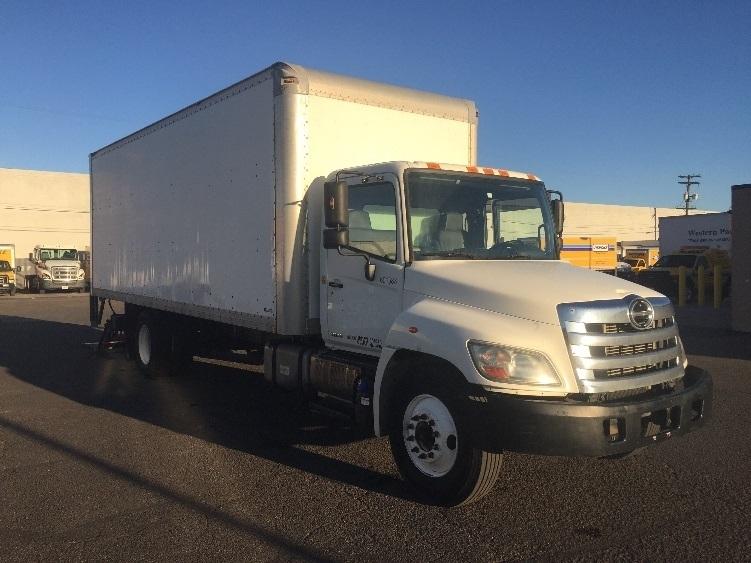 Medium Duty Box Truck-Light and Medium Duty Trucks-Hino-2011-268-DENVER-CO-180,118 miles-$31,250
