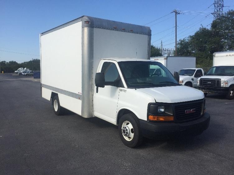 Light Duty Box Truck-Light and Medium Duty Trucks-GMC-2011-Savana G33803-POMPANO BEACH-FL-108,609 miles-$14,750