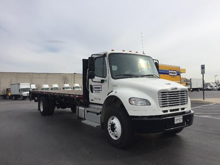 Flatbed Truck-Light and Medium Duty Trucks-Freightliner-2011-M2-JESSUP-MD-150,265 miles-$31,000