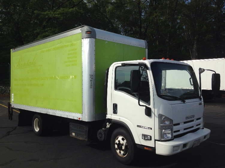 Medium Duty Box Truck-Light and Medium Duty Trucks-Isuzu-2011-NPR-BRAINTREE-MA-140,549 miles-$20,000