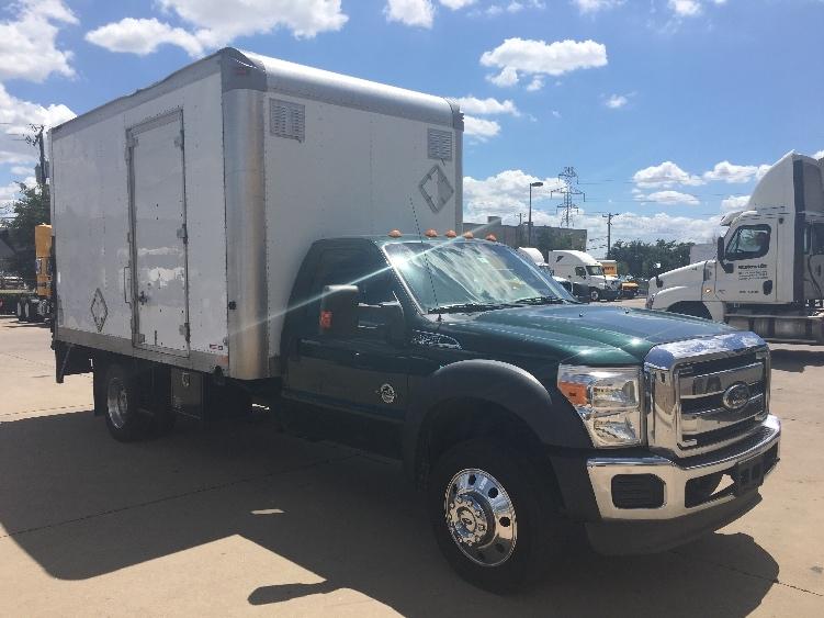 Medium Duty Box Truck-Light and Medium Duty Trucks-Ford-2011-F450-DALLAS-TX-204,590 miles-$13,500
