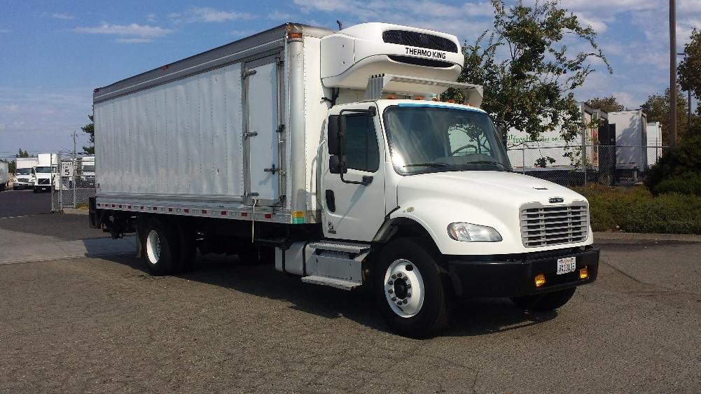 Reefer Truck-Light and Medium Duty Trucks-Freightliner-2011-M2-HAYWARD-CA-147,567 miles-$41,000