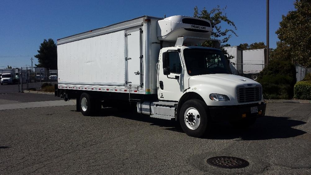 Reefer Truck-Light and Medium Duty Trucks-Freightliner-2011-M2-HAYWARD-CA-145,299 miles-$41,500