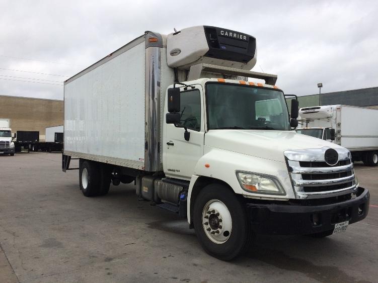 Reefer Truck-Light and Medium Duty Trucks-Hino-2011-268-GARLAND-TX-271,933 miles-$29,250