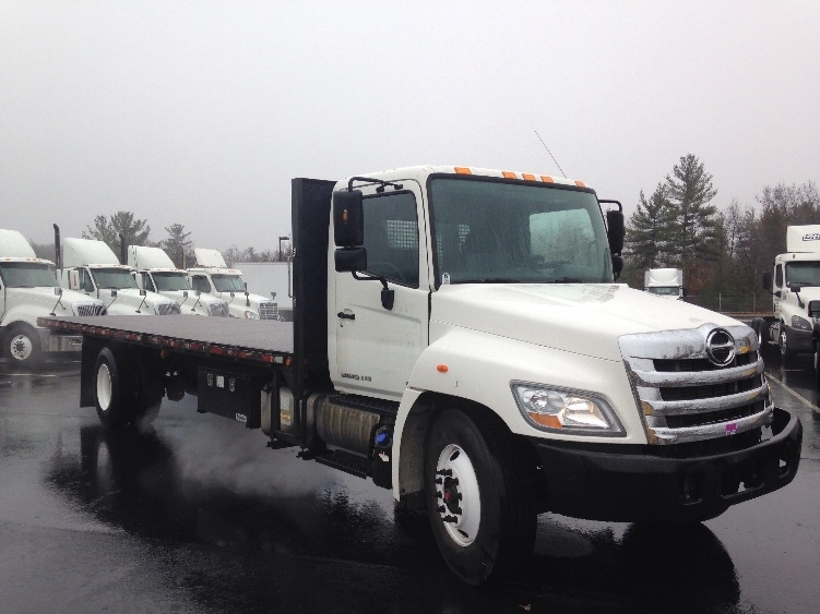 Flatbed Truck-Light and Medium Duty Trucks-Hino-2011-268-LONDONDERRY-NH-187,658 miles-$40,250