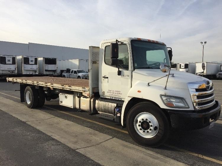 Flatbed Truck-Light and Medium Duty Trucks-Hino-2011-268-TORRANCE-CA-271,098 miles-$37,250