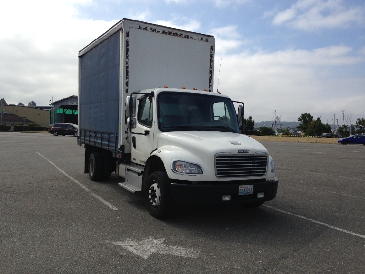 Medium Duty Box Truck-Heavy Duty Tractors-Freightliner-2011-M2-EVERETT-WA-209,746 miles-$19,750
