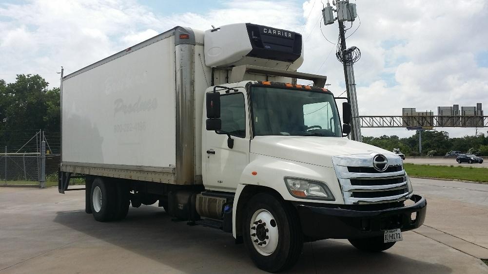 Reefer Truck-Light and Medium Duty Trucks-Hino-2011-268-HOUSTON-TX-211,564 miles-$36,000