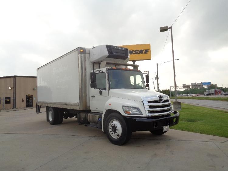Reefer Truck-Light and Medium Duty Trucks-Hino-2011-268-HOUSTON-TX-245,395 miles-$33,250