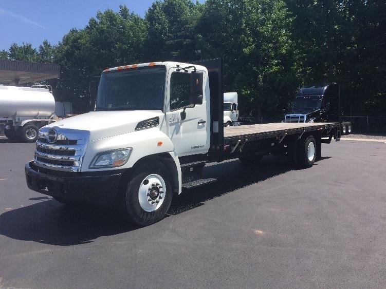 Flatbed Truck-Light and Medium Duty Trucks-Hino-2011-268-MEBANE-NC-75,720 miles-$46,000