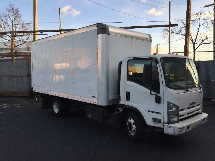Medium Duty Box Truck-Light and Medium Duty Trucks-Isuzu-2011-NPR-WEST BABYLON-NY-159,875 miles-$17,500