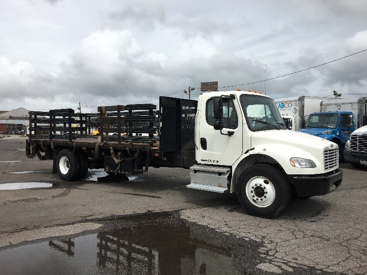Flatbed Truck-Light and Medium Duty Trucks-Freightliner-2011-M2-LINDEN-NJ-134,418 miles-$34,500
