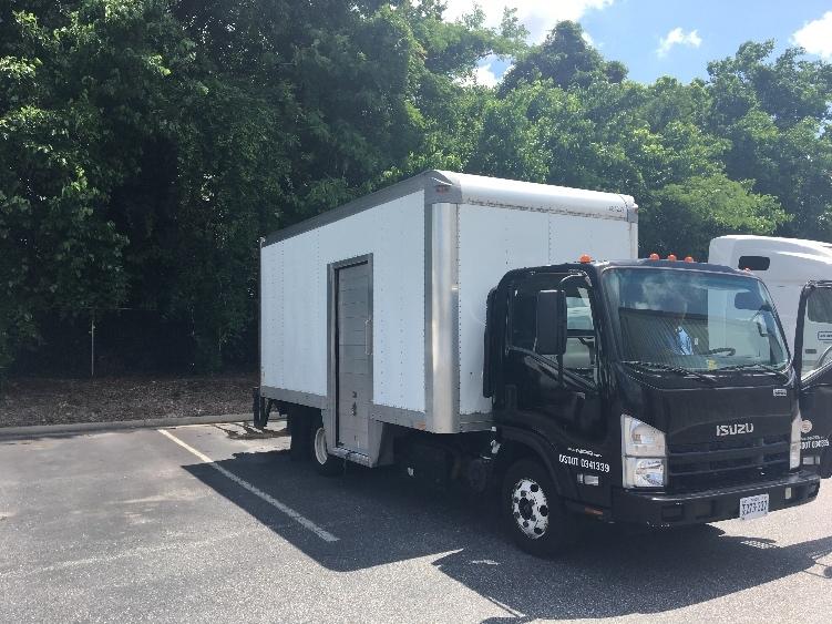 Medium Duty Box Truck-Light and Medium Duty Trucks-Isuzu-2011-NPR-NORFOLK-VA-120,396 miles-$25,250