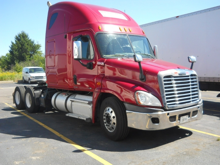 Sleeper Tractor-Heavy Duty Tractors-Freightliner-2011-Cascadia 12564ST-BROOK PARK-OH-659,000 miles-$34,000