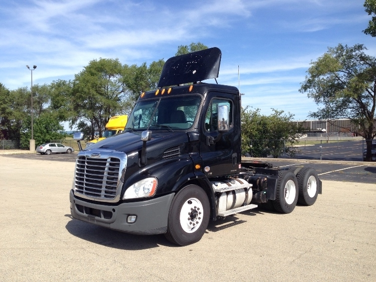 Day Cab Tractor-Heavy Duty Tractors-Freightliner-2012-Cascadia 11364ST-ROMEOVILLE-IL-501,816 miles-$36,750