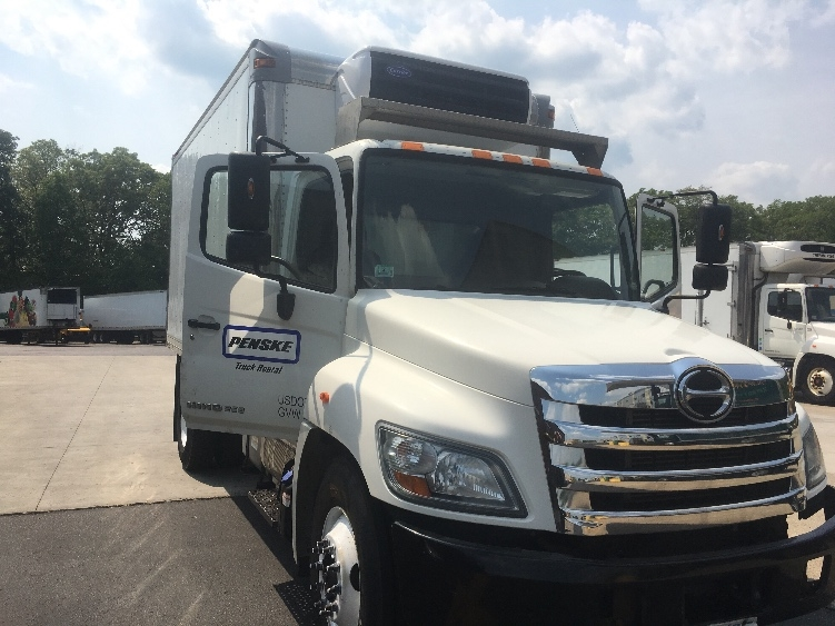 Reefer Truck-Light and Medium Duty Trucks-Hino-2011-268-BRAINTREE-MA-154,476 miles-$28,500