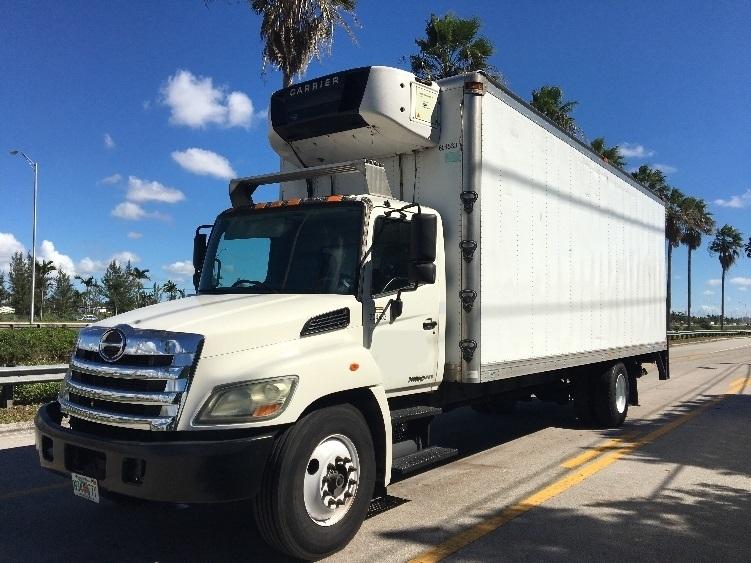 Reefer Truck-Light and Medium Duty Trucks-Hino-2012-338-MEDLEY-FL-182,002 miles-$32,750