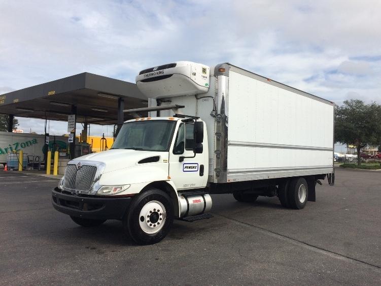 Reefer Truck-Light and Medium Duty Trucks-International-2012-4300-AKRON-OH-157,293 miles-$37,500