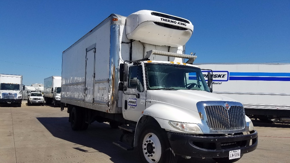 Reefer Truck-Light and Medium Duty Trucks-International-2012-4300-DALLAS-TX-156,654 miles-$31,250