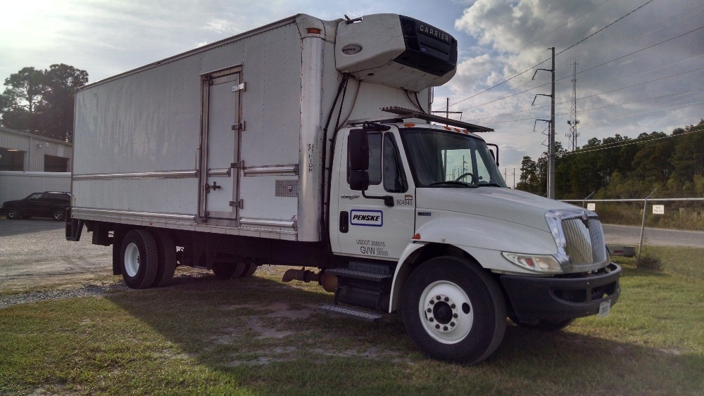 Reefer Truck-Light and Medium Duty Trucks-International-2012-4300-PANAMA CITY-FL-142,365 miles-$34,500