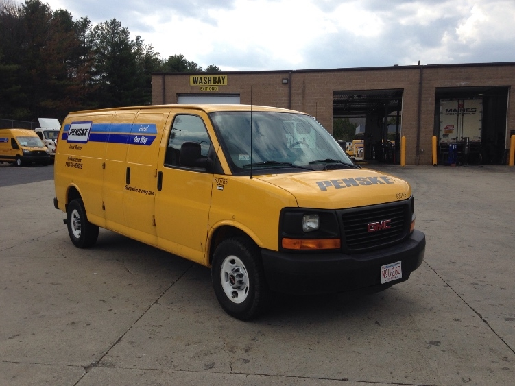 Cargo Van (Panel Van)-Light and Medium Duty Trucks-GMC-2011-Savana G23705-FRAMINGHAM-MA-70,836 miles-$12,000